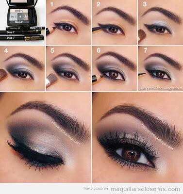El maquillaje de ojos ahumados se caracteriza por dar profundidad en nuestra mirada. Por el día no necesitamos ir tan recargadas, por lo que lo dejaremos