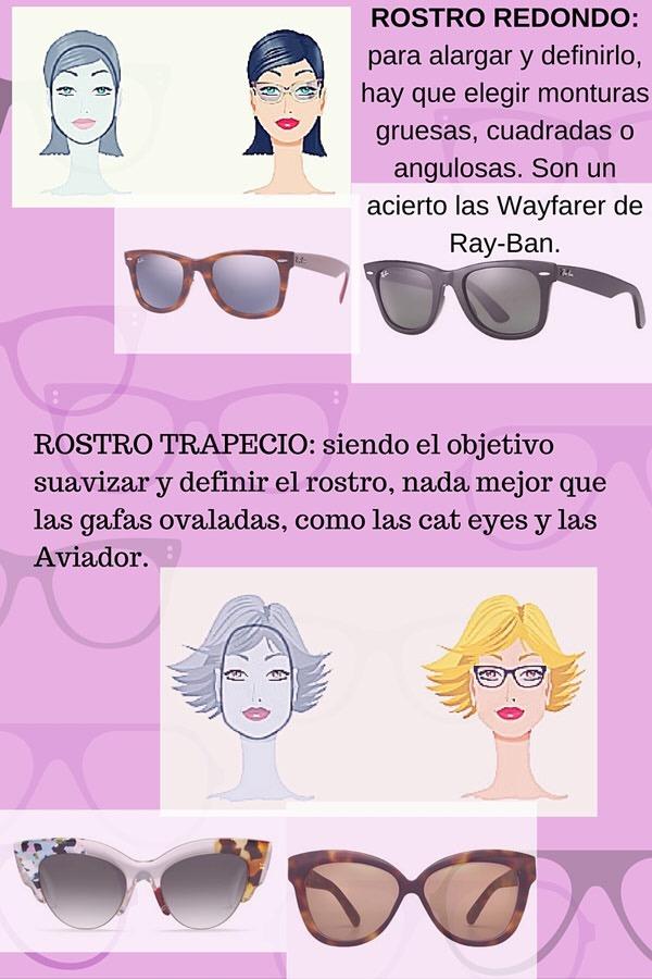 Cómo elegir gafas de sol según la forma de tu cara 🤓 – El vestidor ...